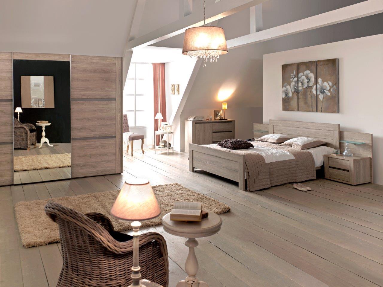 Slaapkamer rocca hout deba meubelen for Slaapkamer meubelen