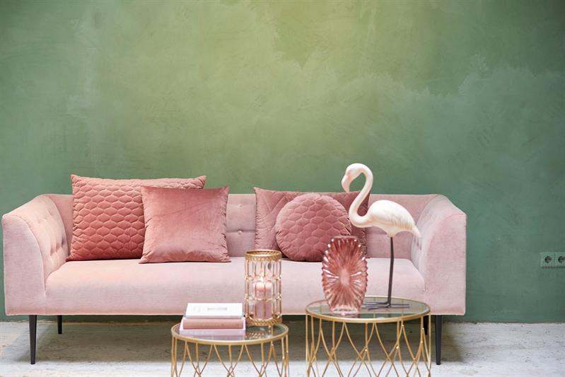 Oud Roze Kussens : Kussen chelsea oudroze roze deba meubelen