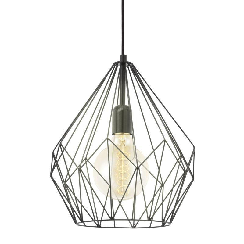 Beroemd Hanglamp VINTAGE/CARLTON - Zwart zwart | DEBA Meubelen #HE62