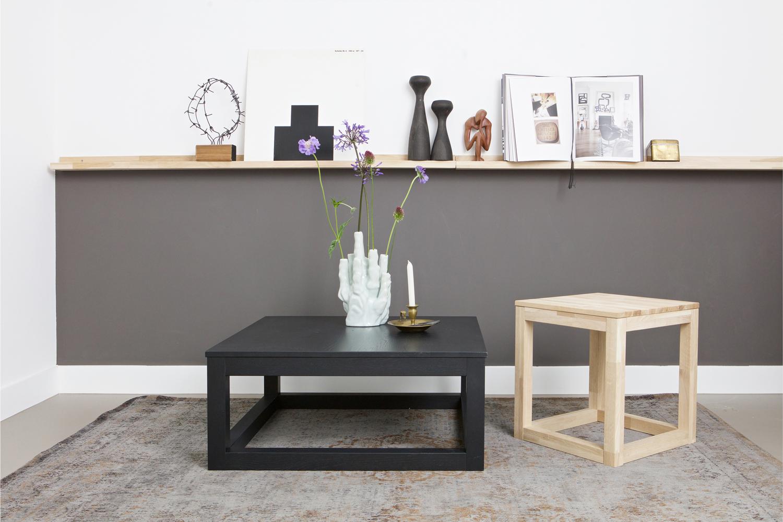 Fotolijstplank studio kleur eik hout deba meubelen