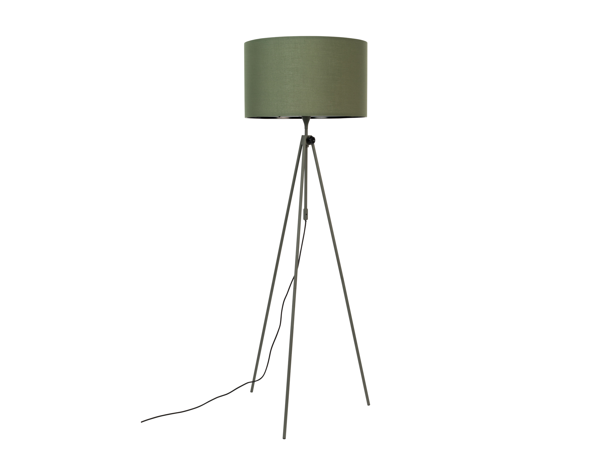Vloerlamp \'Lesley\' - kleur: Green groen | DEBA Meubelen