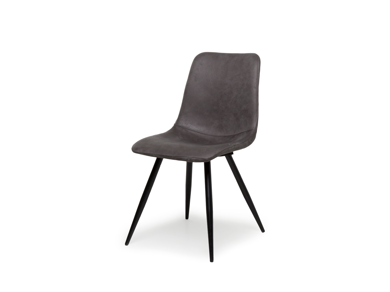 Kuipstoel spot softyl steel grijs deba meubelen for Eetkamerstoelen gekleurd