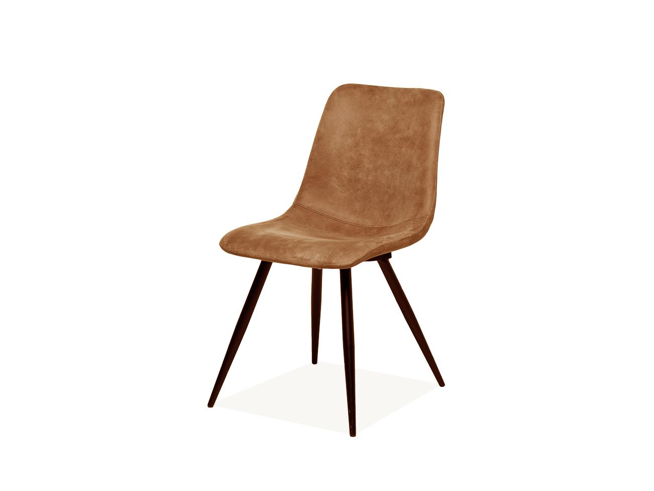Kuipstoel spot softyl cognac bruin deba meubelen for Eetkamerstoelen gekleurd