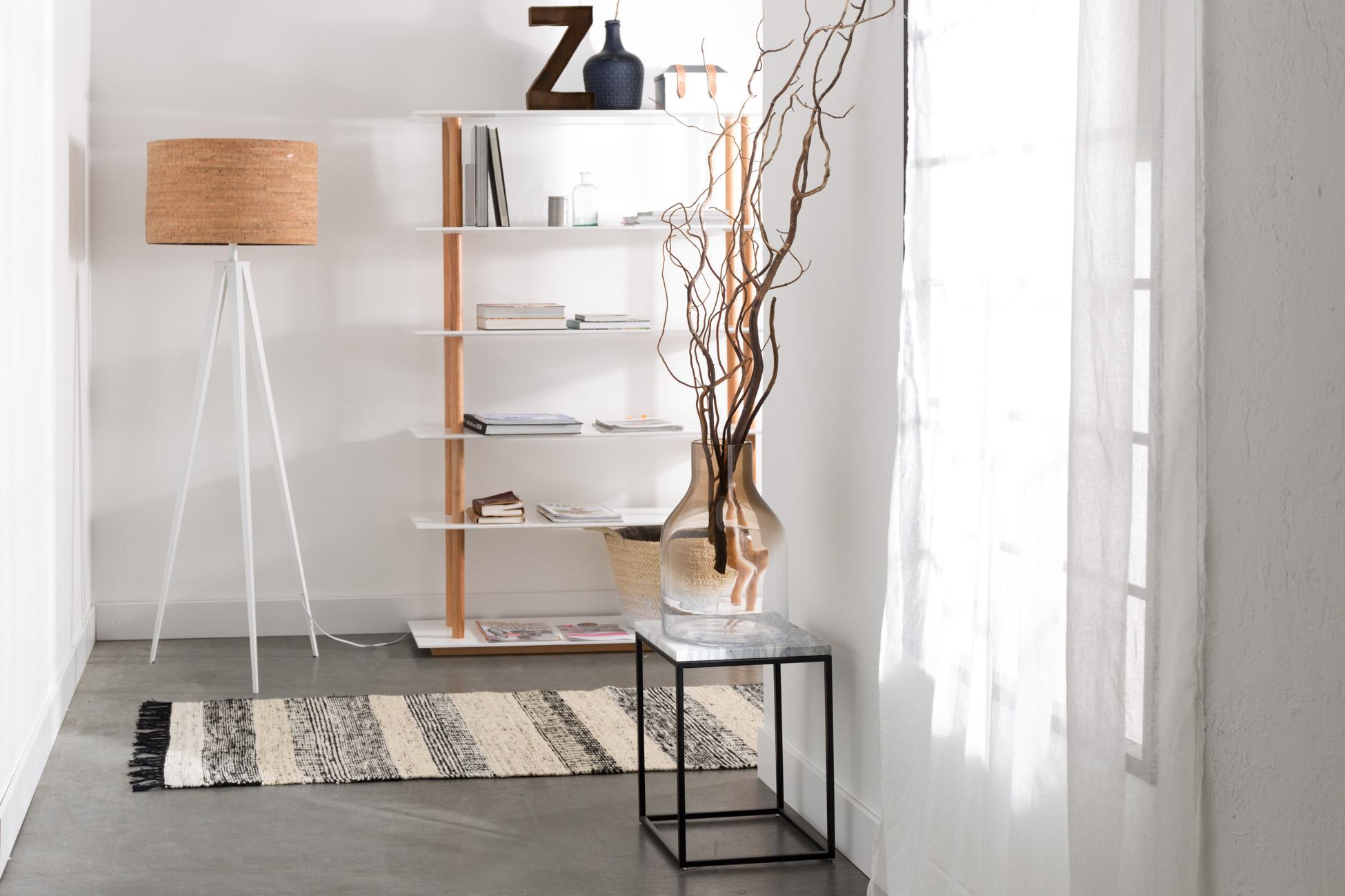 Zuiver Marble Tafel : Bijzettafel marble power kleur white marble wit deba meubelen