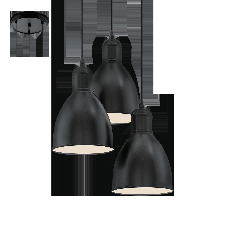 hanglamp priddy kleur zwart zwart deba meubelen