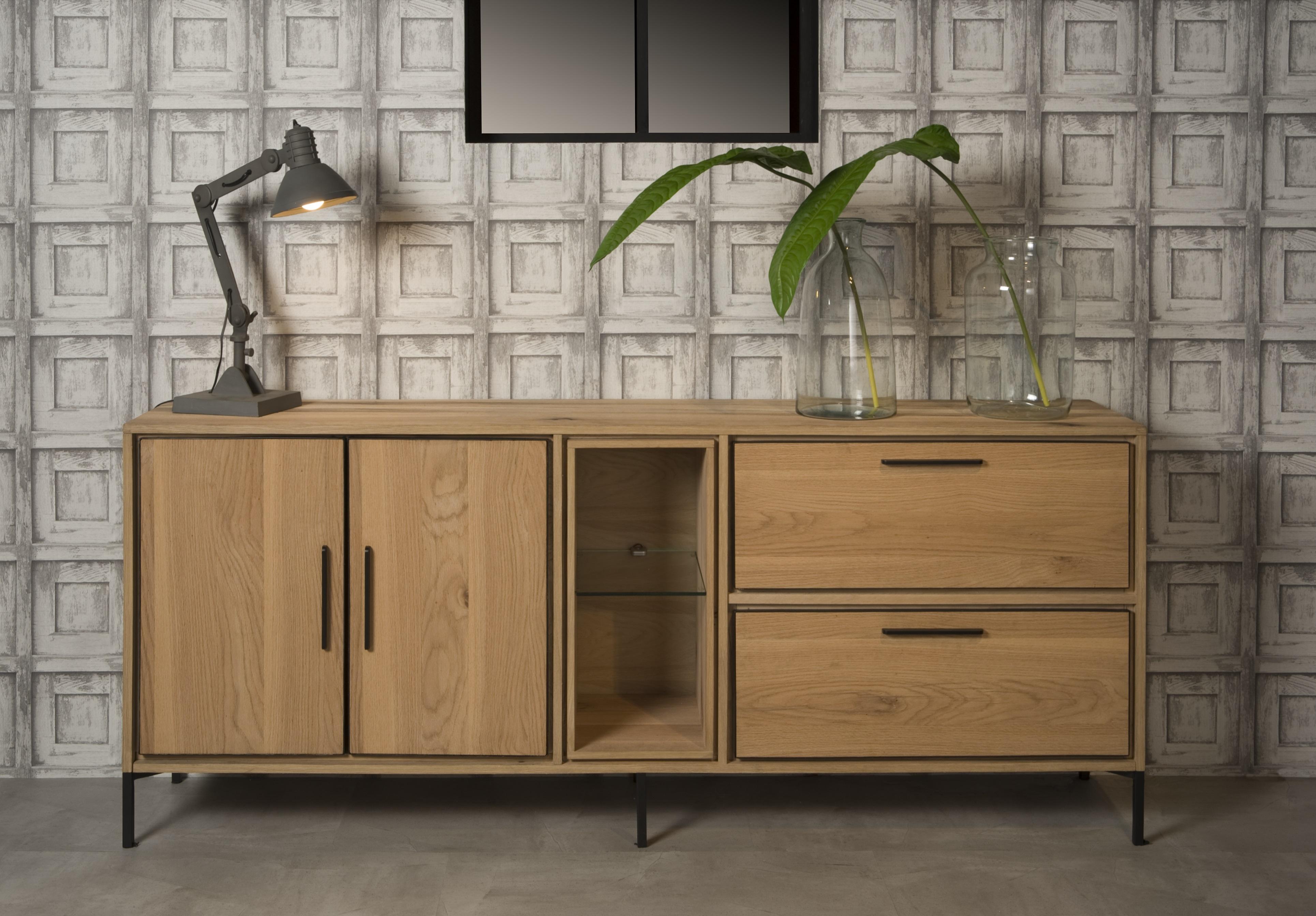 Hedendaags Dressoir LONDON - Oak natural oil hout | DEBA Meubelen FI-92